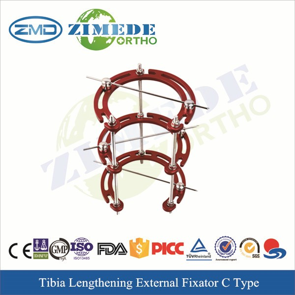10116C orthopedic tibia fixator half ring type