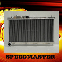 Cheap price aluminium car radiator for B MW fit fan motor 12V