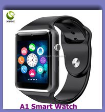 "2016 New 1.54"" Touch Screen GPS Dual Sim GSM Phone Call WIFI 3G Bluetooth 4.4/5.1 OS Android Smart Watch"