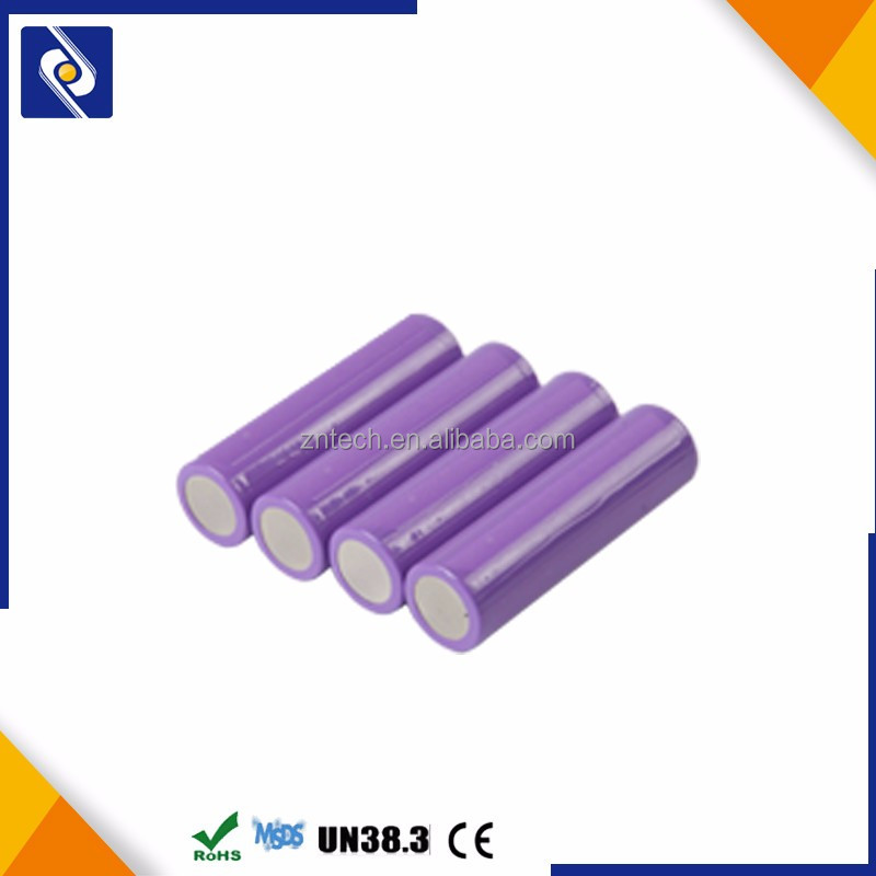 Li-ion Li(NiCoMn)O2 18650 3.7V 2200mAh rechargeable battery for led light bulbs&external battery