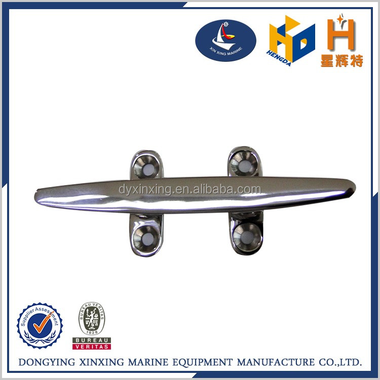 Cheap hardware stainless steel boat yacht cleat for sale