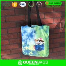Promotional Custom Printed Eco Friendly Reusable Shopping Bag