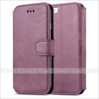 Retro Matted PU Leather Buckle Magnetic Case Cover For iPhone 6