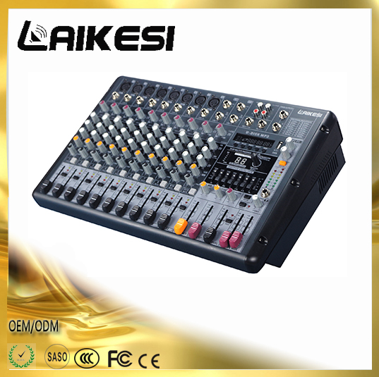 2017 new design PMX-FX 6/8/12 channels audio mixing console