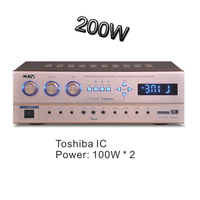japan IC amplifier 200w rms with USB SD Bluetooth cheap price ini factroy COV