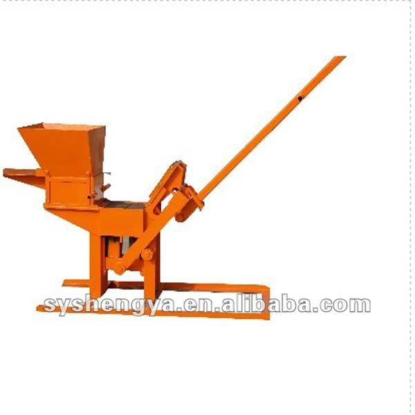 QMR2-40 interlocking brick/Block machine press by hand