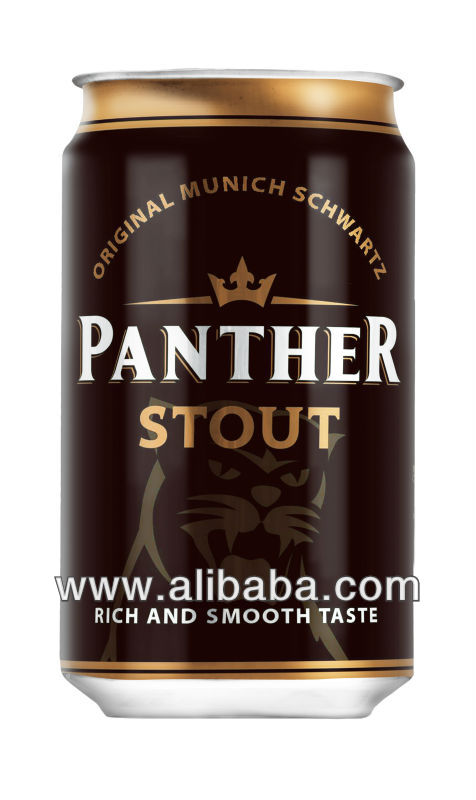 Panther Stout Alcohol Dark Beer 5%
