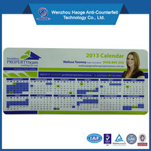 2014 new Paper monthly&yearly calendar fridge magnet