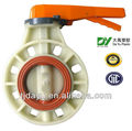 sanitary wafer type manual butterfly valve dn100
