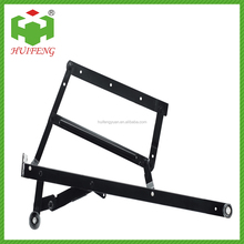 Decorative folding steel sofa bed adjustable fitting hinge