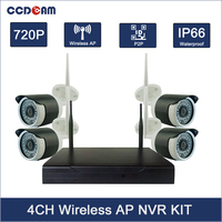 Big Promotion!!! 2.4ghz Wireless Security Camera System 720P 4ch NVR Wireless Kit