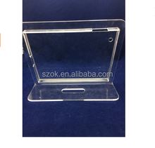 Security stand for ipad mini Tablet acrylic display holders