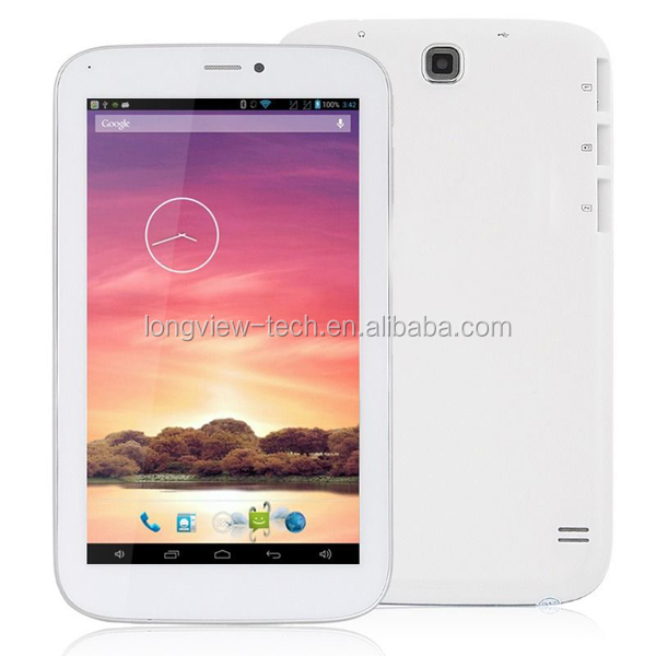 Wholesales Allwinner a23 7 inch dual core 2g phone calling/Wifi/Bluethooth android tablet