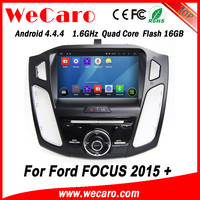 Wecaro WC-FF8088 Android 4.4.4 car dvd player indash car entertainment system with gps for ford focus 2015 OBD2