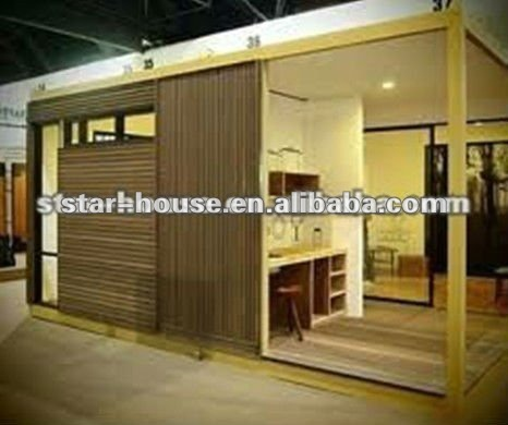 Prefabricated mobile home as shop/hotel/apartment/workshop/office/villa/domitory(certified by CE,B.V.,CSA &AS)