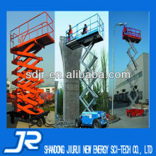 4 wheels aerial work platform manufacturer