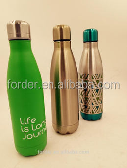 ERAY 25 oz Mira/Water Vault/Swell Cola Shape Vacuum Water Bottle 750 ML Insulated Double Wall