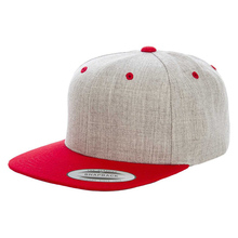 China wholesale blank snapback hat,customized plain yupoong snapback