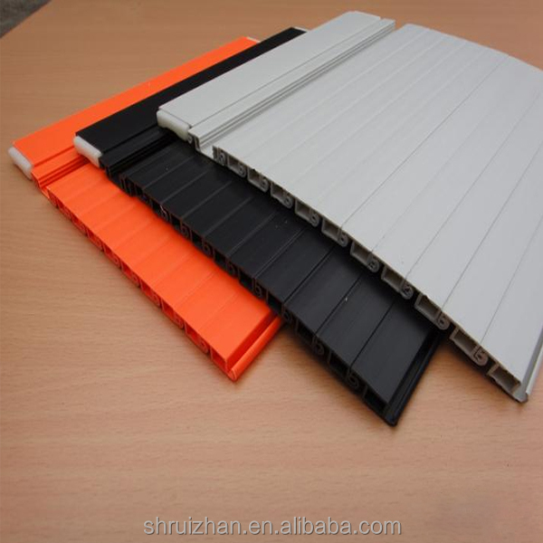 PVC ABS Plastic Roller Shutter Doors for Steel/Wood Cabinet