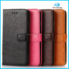 Crystal Material Printing PU Leather Credit Card Wallet Case for iPhone 7 Plus/iPhone 7 Case Leather