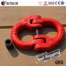 European type drop forged galvanized chain link connecting link offset link