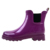 Ladies Waterproof Chelsea Rubber Rain Boots