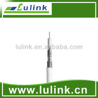 High Quality RG6 Quad Shield Coaxial Cable from China