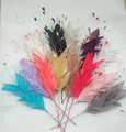 BY-FM802-Factory price high quanlity feather fascinator/ feather mount/ feather headwear/ feather trimming
