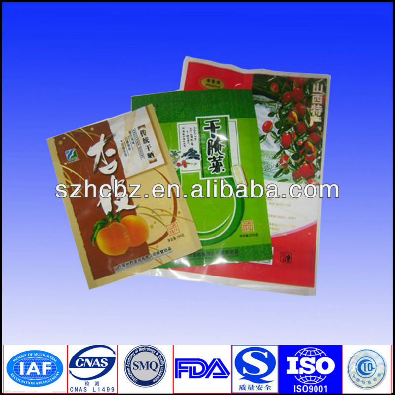 Hot Selling Laminated Material Moisture Proof Food Packaging Bag