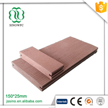Easy to clean wpc teak composite wood decking price