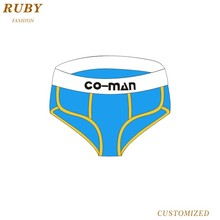 Custom various sizes and colors breathable sexy men underwear panty