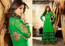 Designer indian pakistani heavy handwork anarkali suits R1255