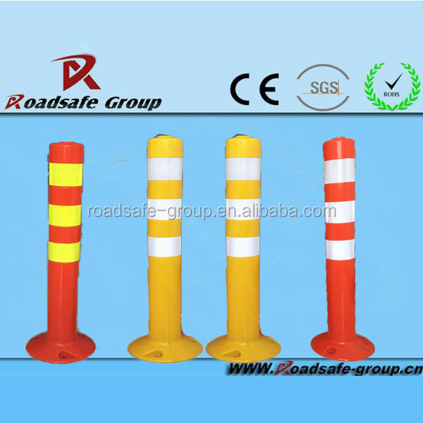 Highway safety flexible EVA delineator postguide post single post car lift
