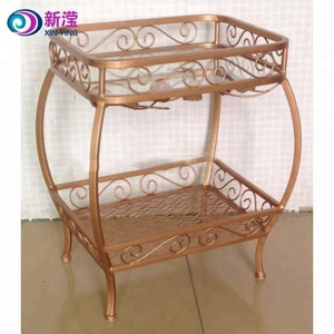 Metal coffee table decorative dining table set wholesale