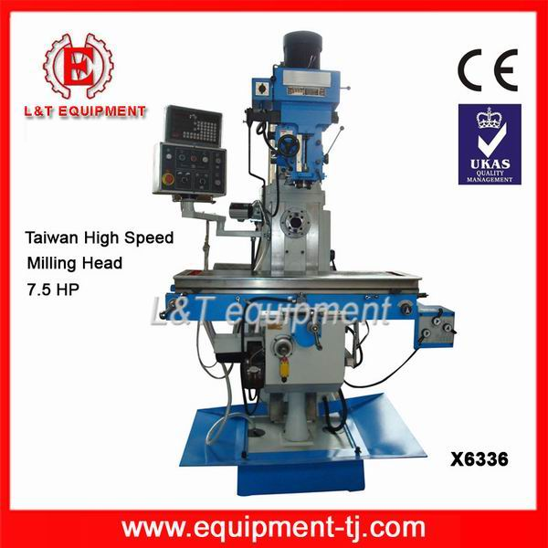 X6336 CE Certificated Automatic Feed For Universal Milling Machines