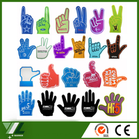 Promotional big foam hand , Cheering EVA Foam Hands for Fan's Gifts