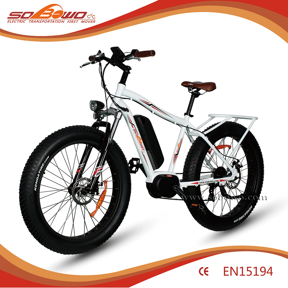 2017 import electric bike from china 350w fat tyre mid motor best ebike