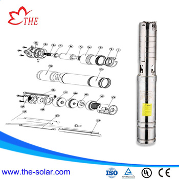 big flow rate solar water pump system for agriculture