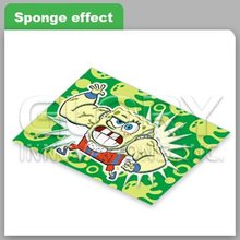 3D Collection Card With Cartoon Printing And Snope Effect