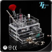 New design good quality wholesale 6 drawer acrylic makeup organizer