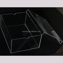 Acrylic Box Display Shoes Clear Lucite Men Jordans Sneakers Shoe Box Without Logo