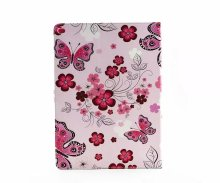 Butterfly Rose cover beautiful lady style Leather Case for iPad Pro 12.9 with stand function