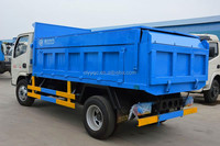 3 axle 6*4 heavy dump trucks 5ton cargo truck for sale
