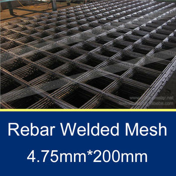 4.75mm wire dia automatic reinforcing wire mesh weld machine