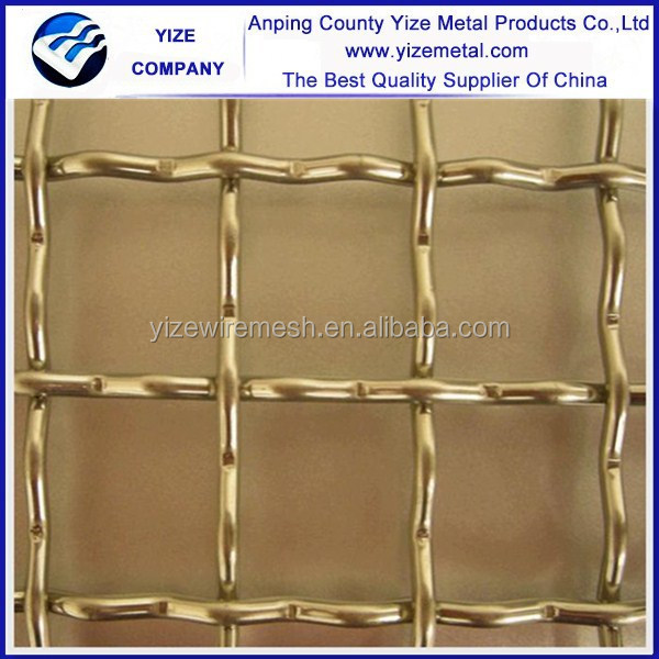 high performance stainless steel crimped wire mesh tray