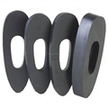 custom small big thin thick solid rubber spacer
