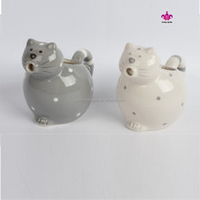 cat design ceramic milk pitchers,milk container,water pichers