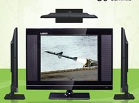 Narrow Frame Plastic TV Stand Black Color 17inch LCD LED TV With High Quality Kitchen TV