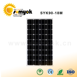 factory direct solar energy products 80w solar panels wholesale in china