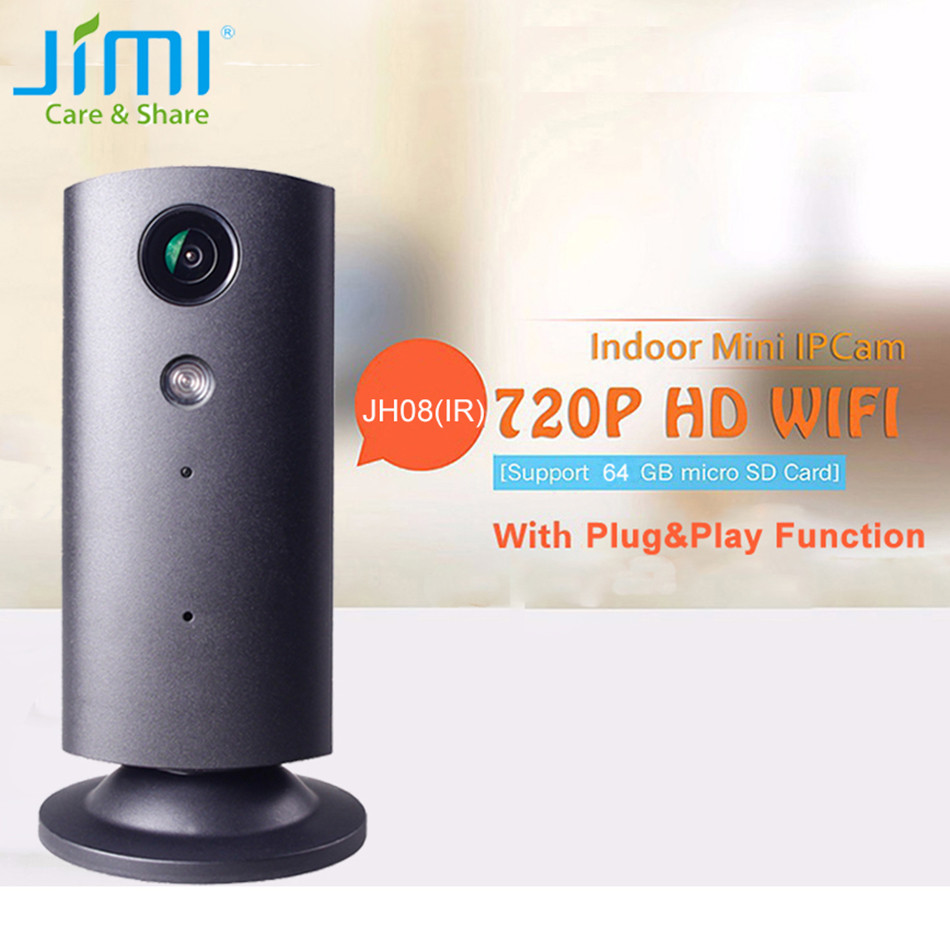 JIMI New Wireless Home Camera H.264 Video Monitor audio talk motion alarm system